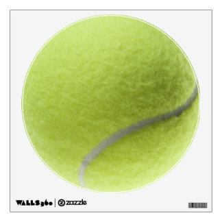 Yellow Tennis Ball Customized Template Room Sticker
