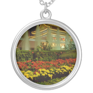 yellow The Gate of Heavenly Peace Forbidden City Custom Necklace