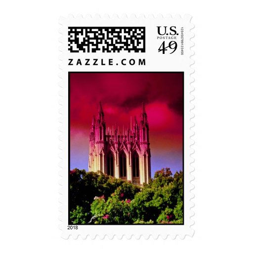 Yellow The National Cathedral, Washington, D.C., U Postage