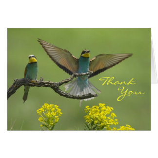 Yellow Throated Kere Card