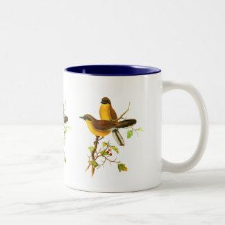 Yellow-throated Laughingthrush Two-Tone Coffee Mug