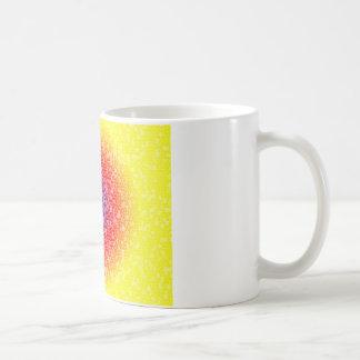 Yellow through he net coffee mug
