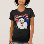 YELLOW THUNDER WOMAN AMERICAN INDIAN T SHIRTS