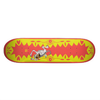 Yellow Tiger Skateboard Deck