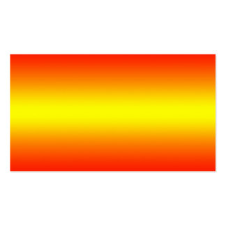 Yellow to Red Gradient - Customized Template Blank Business Card