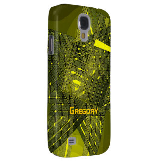 Yellow Tones Samsung Galaxy S4 for Gregory Samsung S4 Case