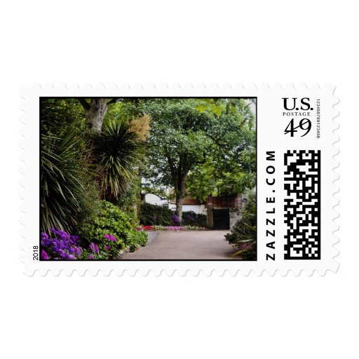 Yellow Town gardens at St. Ives, Cornwall, England Postage