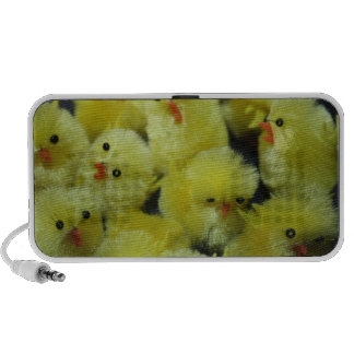 Yellow Toy Fluffy Chicks Doodle Speakers