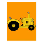 Yellow Tractor Postcards