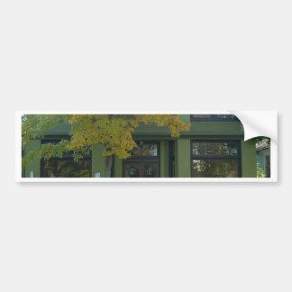 Yellow Tree Green Store Car Bumper Sticker