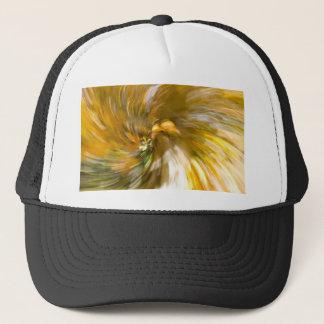 Yellow Tree Swirl's Two Trucker Hat