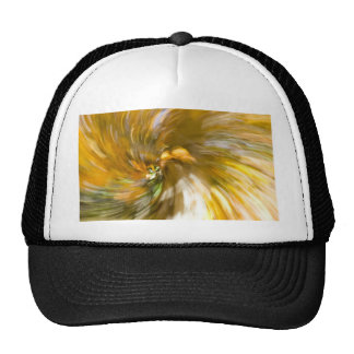Yellow Tree Swirl's Two Trucker Hat