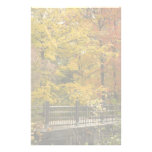 Yellow Trees Of Autumn Personalized Stationery