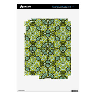 Yellow trendy Pattern Decal For iPad 3