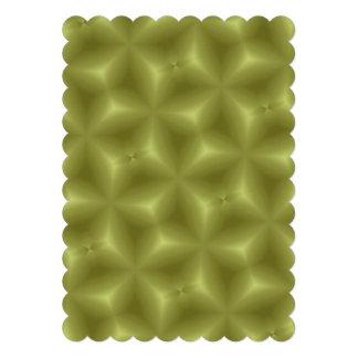 yellow trendy pattern custom announcement