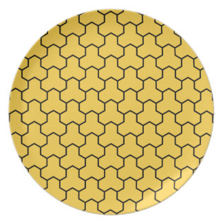 Yellow Tri-Hex Plate