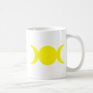 Yellow Triple Goddess Mug