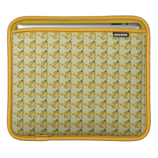 yellow tropical banana fruit sleeve for iPads
