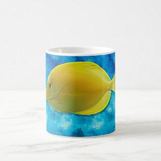 Yellow Tropical Fish Coffee Mug