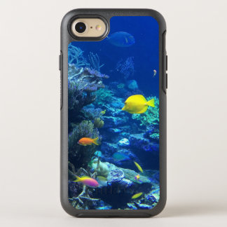 Yellow Tropical Fish OtterBox Symmetry iPhone 7 Case