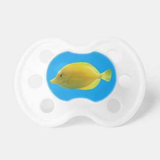 Yellow Tropical Fish Pacifier