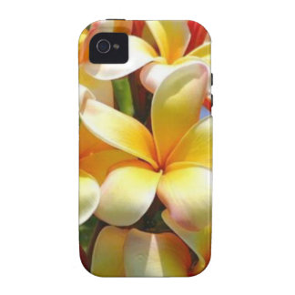 YELLOW TROPICAL FLOWERS Case-Mate iPhone 4 COVERS