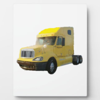 Yellow Truck Plaques