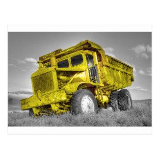 Yellow Truck Postcard