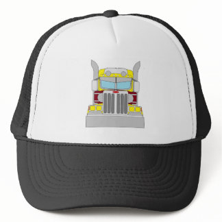 yellow trucka hat