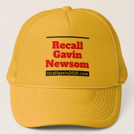 Yellow trucker hat recallgavin2020