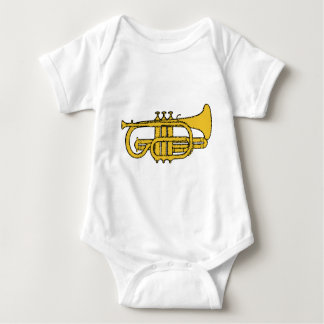 Yellow Trumpet Baby Bodysuit