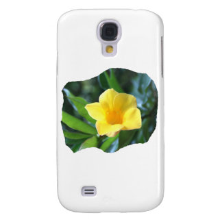 Yellow Trumpet Flower Photograph Galaxy S4 Covers