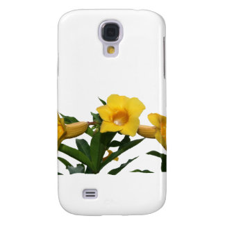 Yellow Trumpet Flowers cutout photo Galaxy S4 Cover