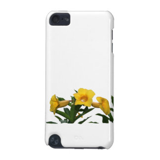 Yellow Trumpet Flowers cutout photo iPod Touch (5th Generation) Cover