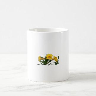 Yellow Trumpet Flowers cutout photo Mugs