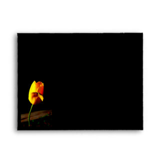 Yellow Tulip Envelope