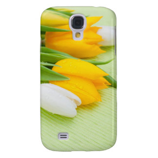 Yellow tulip galaxy s4 cases