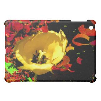 Yellow Tulip iPad Mini Cover