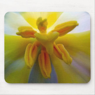 Yellow Tulip Mouse Pad