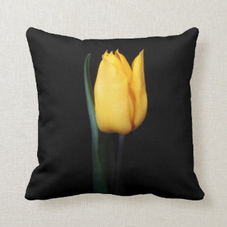 Yellow Tulip Pillow