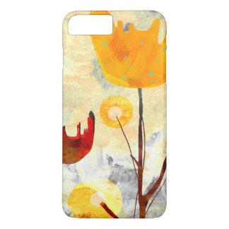 Yellow Tulip Watercolor Art iPhone 7 Plus Case