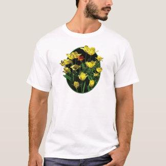 Yellow Tulips and an OrangeTulip Mens T-Shirt
