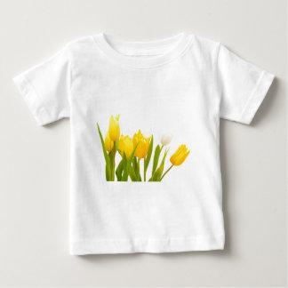 Yellow tulips baby T-Shirt