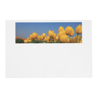 Yellow tulips by Thespringgarden Placemat