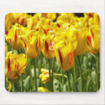 Yellow Tulips Floral Mousepad