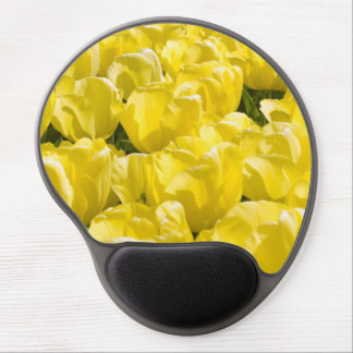 Yellow Tulips Gel Mouse Pad