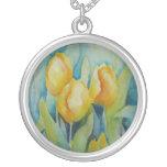Yellow Tulips Pendants