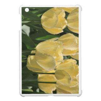Yellow Tulips Power Light iPad Mini Covers