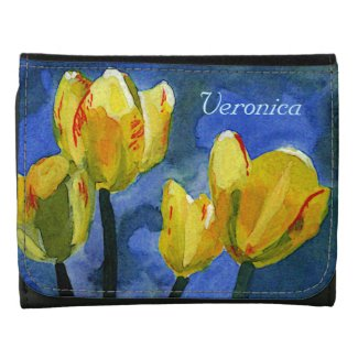 Yellow Tulips Spring Floral