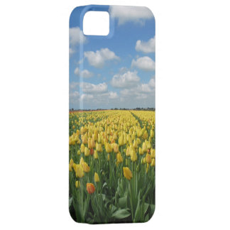 Yellow Tulips Spring Landscape iPhone 5 Covers